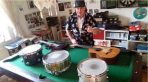 Backi Backhausen (Schlagzeuger des ersten Panikorchesters)